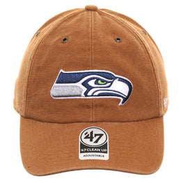47 Brand Cleanup Seattle Seahawks Carhartt Adjustable Hat - Brown