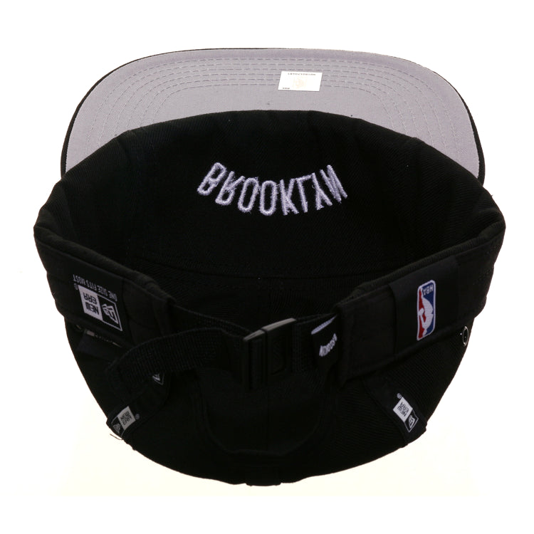 Exclusive New Era D Lab Inside Out Brooklyn Nets 5 Panel Hat - Black