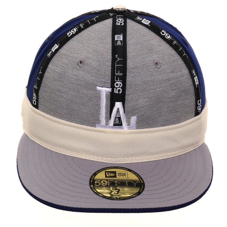 6bf7a9d1 Exclusive New Era 59Fifty Los Angeles Dodgers Rally Cap Game Hat - Royal