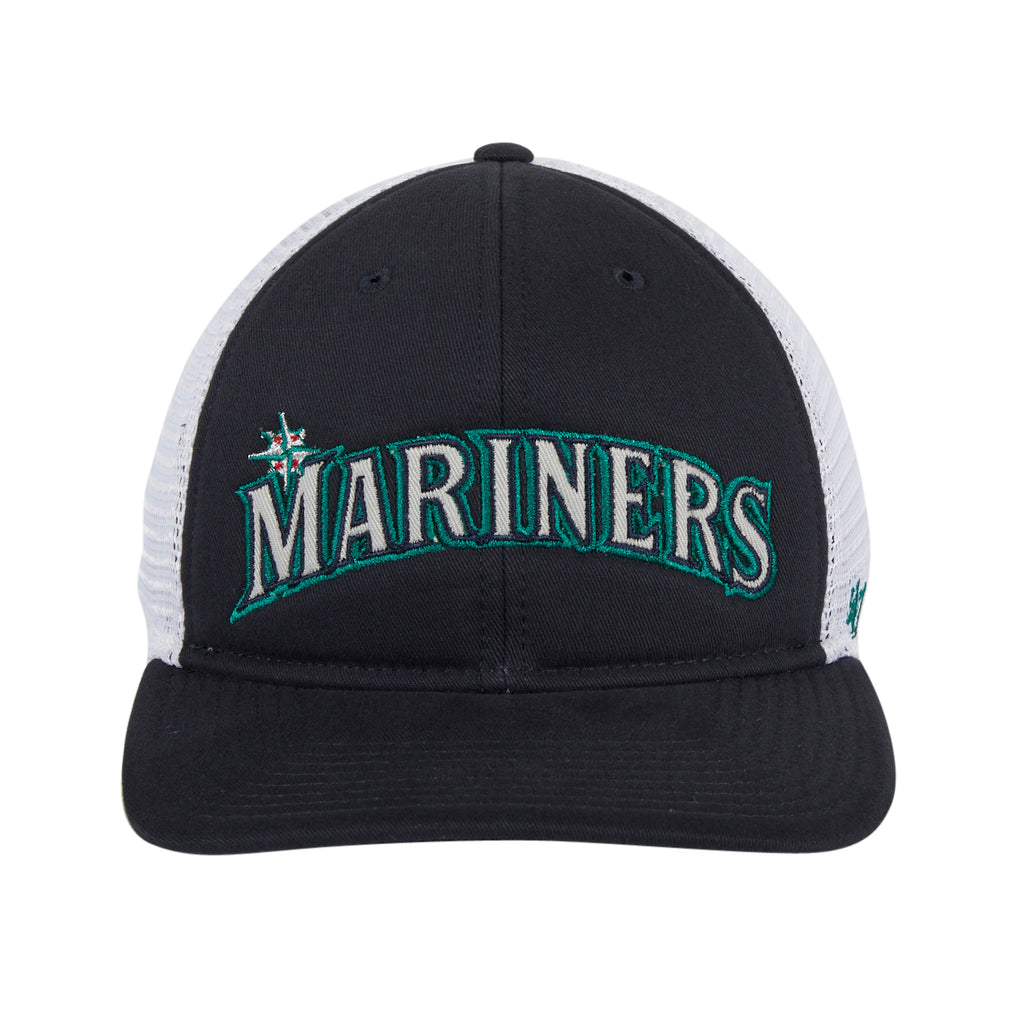 47 Brand Seattle Mariners MVP DP Snapback Hat - Navy