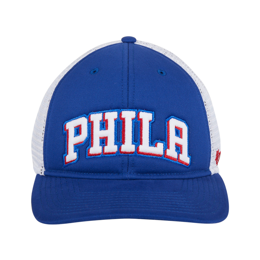 47 Brand  Philadelphia 76ers MVP DP Snapback Hat - Royal
