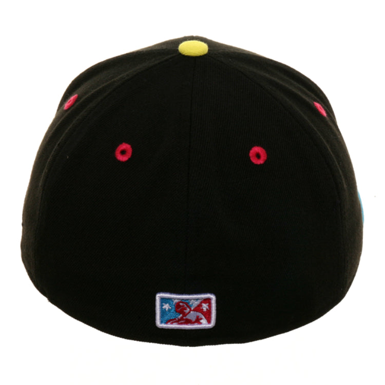 Exclusive New Era 59Fifty Erie Pinatas Hat - 2T Black, Light Blue