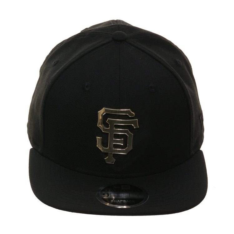 newest collection 181db 1d552 Exclusive New Era 9fifty San Francisco Giants Metal Logo Snapback Hat – Hat  Club
