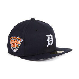 Exclusive New Era 59Fifty Detroit Tigers 2005 All Star Game Patch Hat - Navy