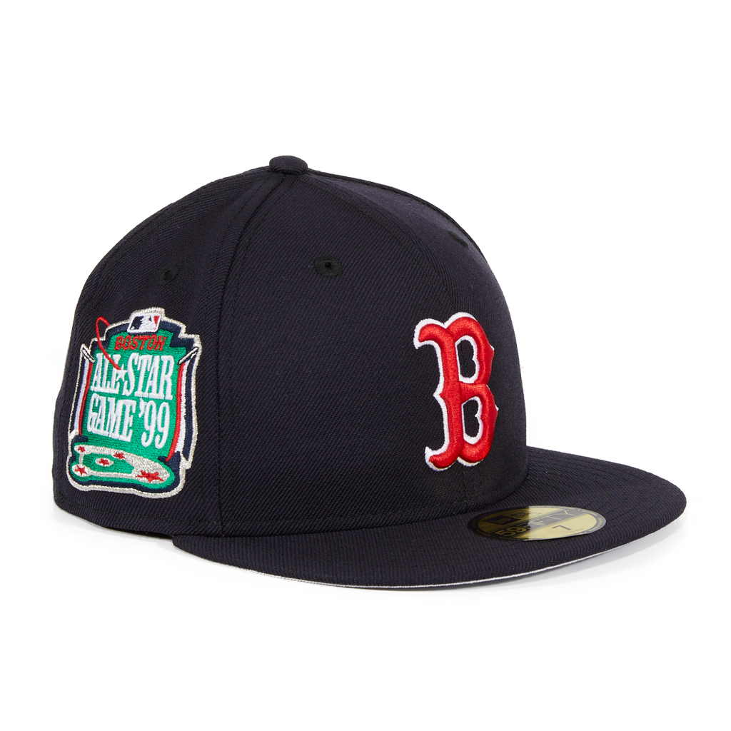 Exclusive New Era 59Fifty Boston Red Sox 1999 All Star Game Patch Hat - Navy