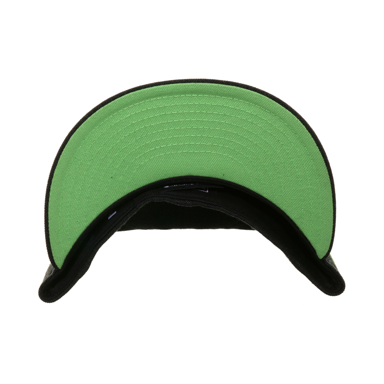 Dionic New Era 59Fifty OctoSlugger Face Hugger Hat - Heather Black