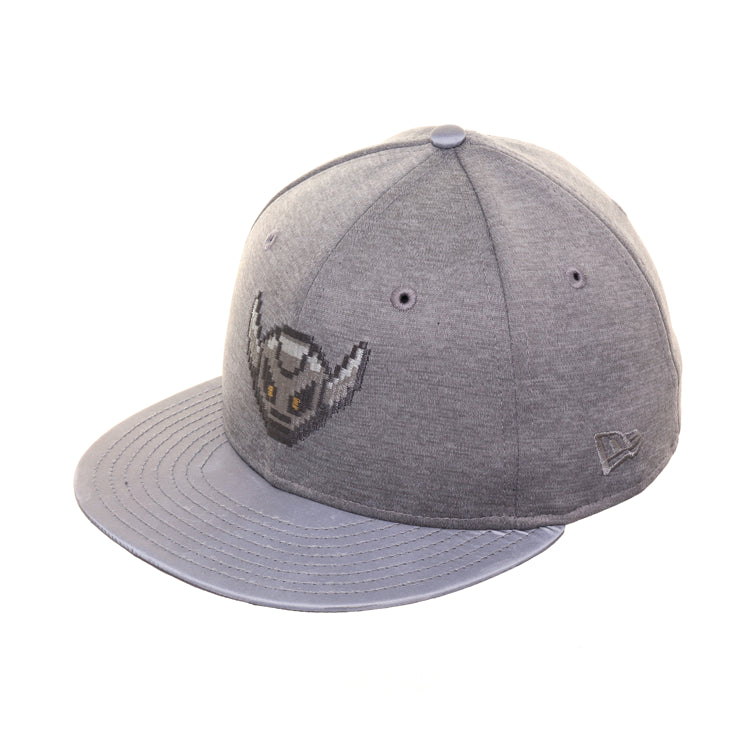 Dionic 59Fifty Battle Bot Shadow Hat - 2T Graphite, Metallic Silver