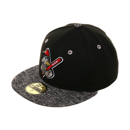 Dionic New Era 59Fifty Amsterdam Squabs Hat - 2T Black, Gray