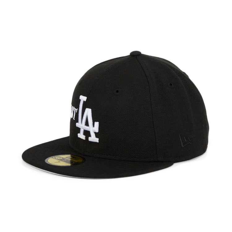 Exclusive 59Fifty Los Angeles Dodgers East LA Hat - Black, White