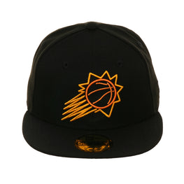 Exclusive New Era 59Fifty Phoenix Suns Neon Hat - Black
