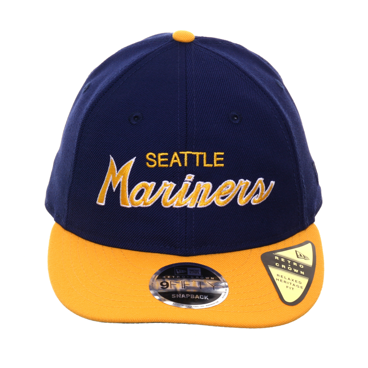 save off 05e27 6f238 Exclusive New Era 9fifty Seattle Mariners Script Retro Crown Snapback – Hat  Club