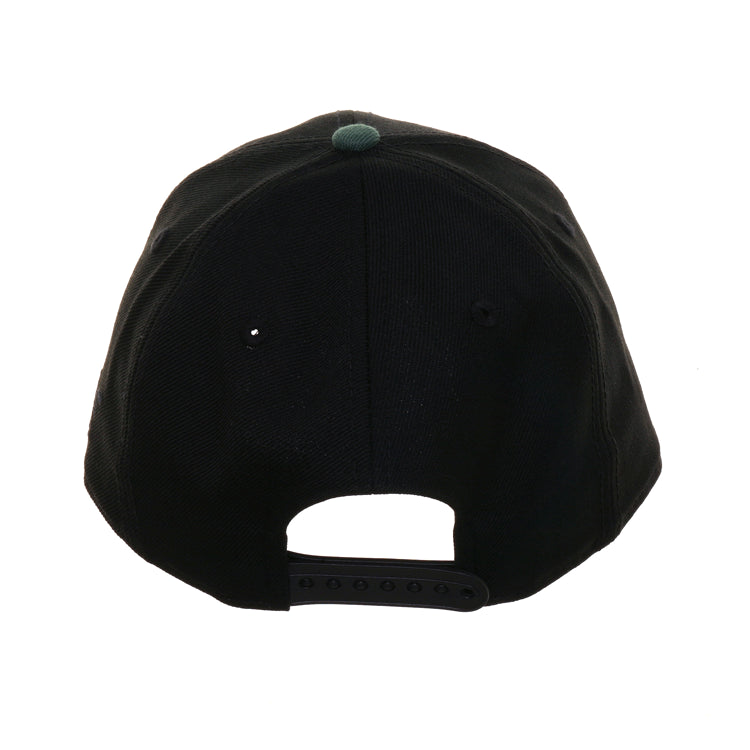 Exclusive New Era 9fifty Milwaukee Bucks Script Retro Crown Snapback Hat - 2T Black, Green