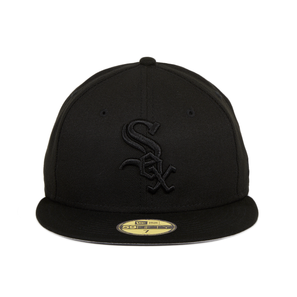 New Era 59Fifty Chicago White Sox Hat - Black, Black