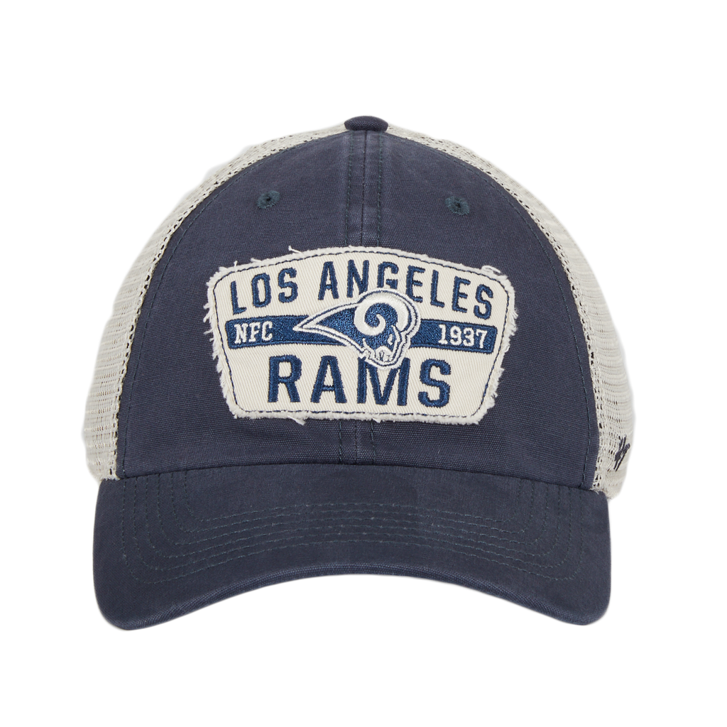 47 Brand Clean Up Los Angeles Rams Crawford Mesh Dad Hat - Navy