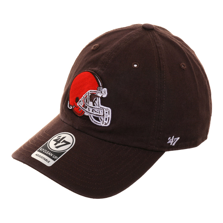 47 Brand Clean Up Cleveland Browns OTC Dad Hat- Brown
