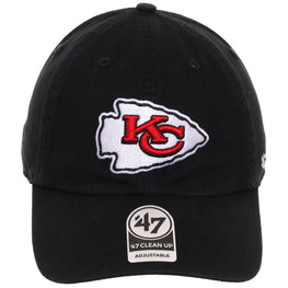 47 Brand Clean Up Kansas City Chiefs OTC - Black