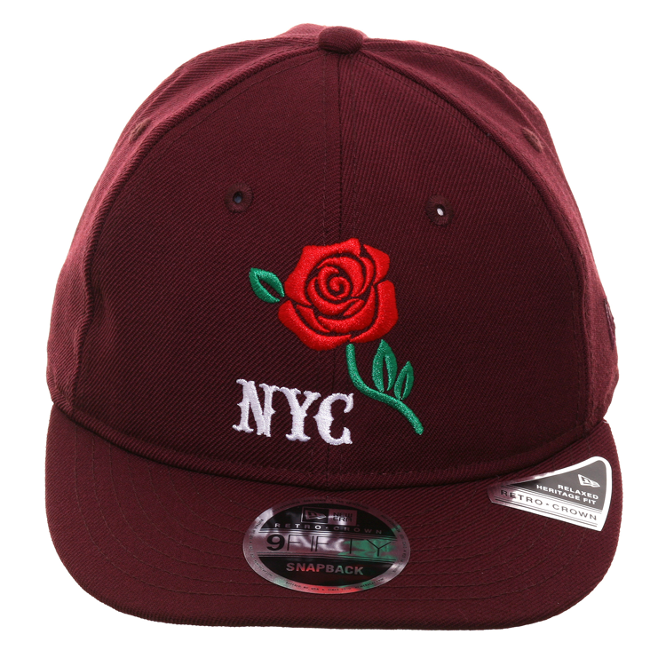 get online newest collection amazing selection Exclusive New Era 9Fifty NYC Apple Retro Crown Snapback Hat ...