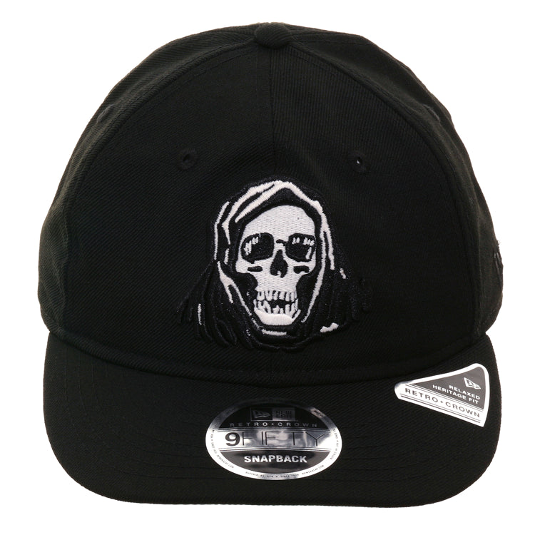 a49439fb9e5038 Exclusive New Era 9Fifty Retro Crown Fear City Reaper Snapback Hat - B – Hat  Club