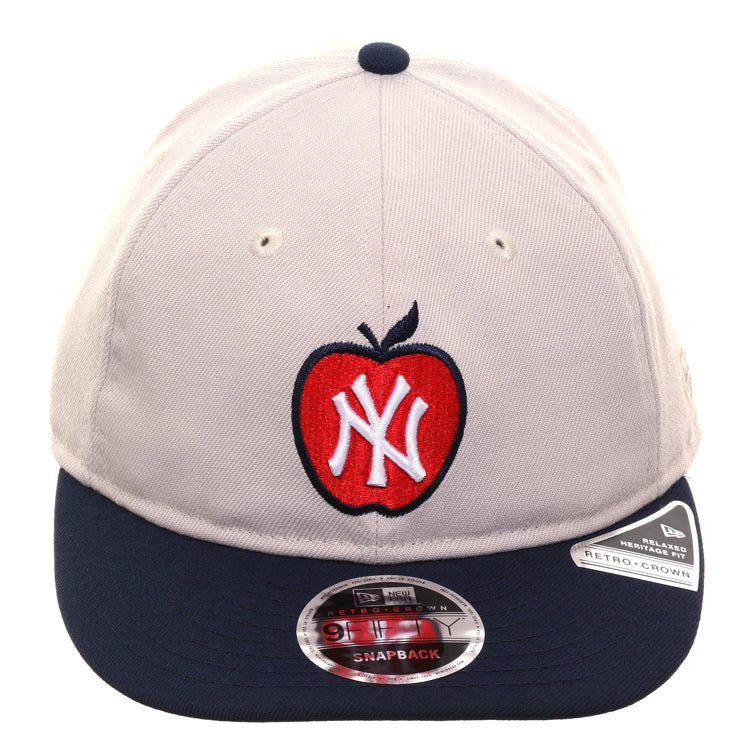 6eb09962f91b3b Exclusive New Era 9Fifty New York Yankees Apple Retro Crown Snapback H – Hat  Club