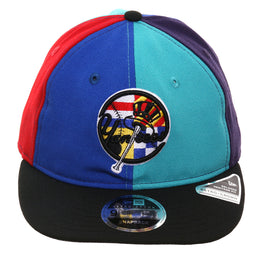 5665c9cda1e72f Exclusive New Era 9Fifty New York Yankees Retro Crown Snapback Hat - Multi  Color