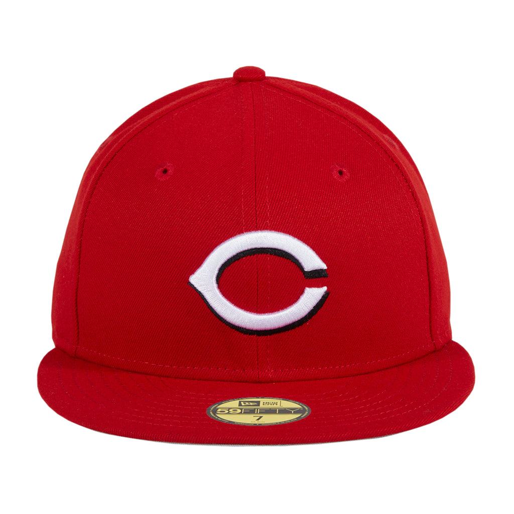 New Era 59Fifty Retro On-Field Cincinnati Reds Home Hat - Red