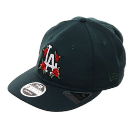 100% authentic 04b56 e9eab Exclusive New Era 9Fifty Los Angeles Dodgers Floral Retro Crown Snapback Hat  - Dark Green