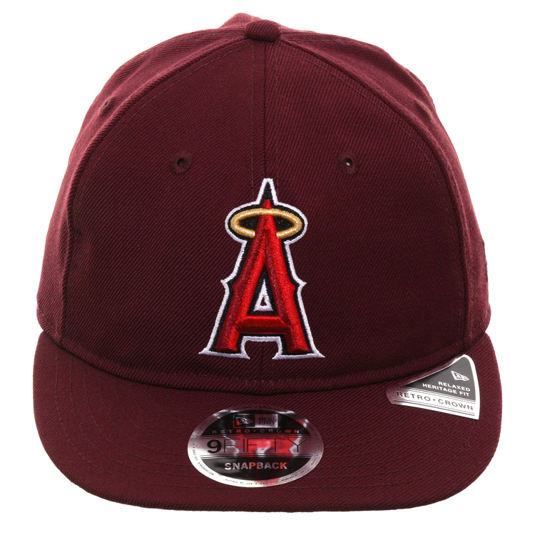 best loved 1bade 6c376 Exclusive New Era 9Fifty Los Angeles Angels Retro Crown Snapback Hat - – Hat  Club