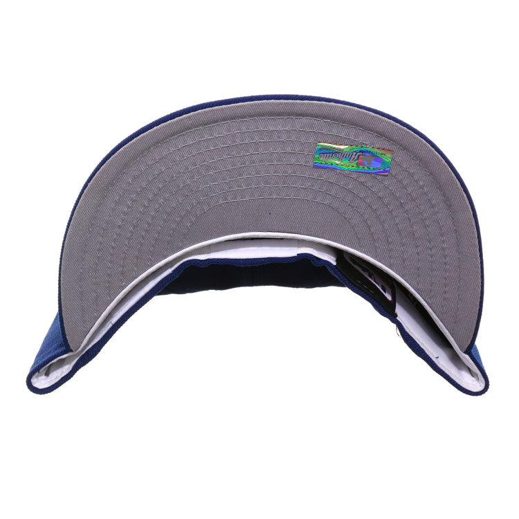 detailed images new arrive huge inventory Exclusive New Era 59Fifty Milwaukee Brewers Alternate Hat - Royal ...