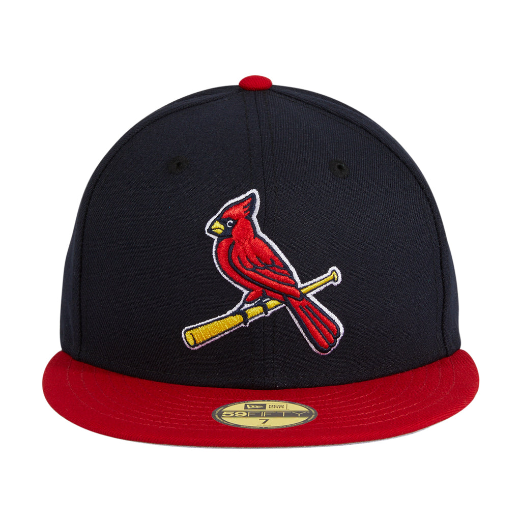New Era 59Fifty Retro On-Field St. Louis Cardinals Alternate 2 Hat - Navy, Red