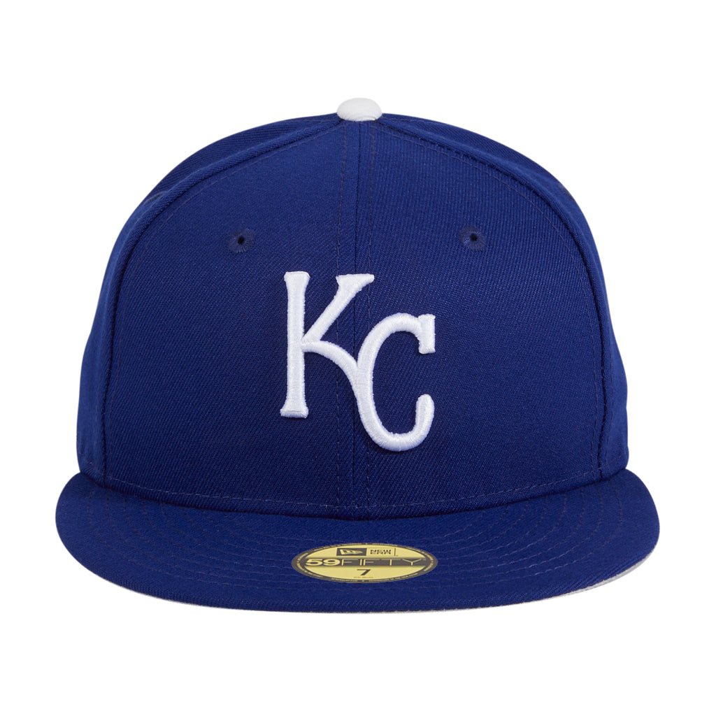 New Era 59Fifty Retro On-Field Kansas City Royals Game Hat - Royal