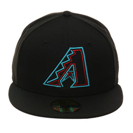 Exclusive 59Fifty Arizona Diamondbacks Neon Hat - Black