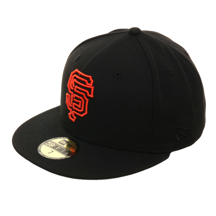 Exclusive 59Fifty San Francisco Giants Neon Hat - Black