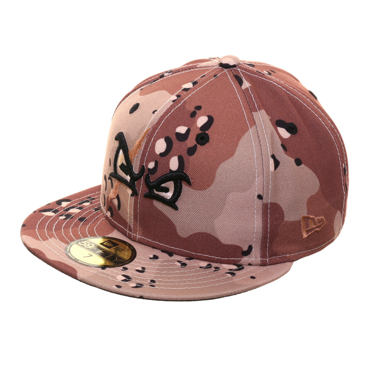 Dionic New Era 59Fifty Octo Rally Hat - Desert Camouflage