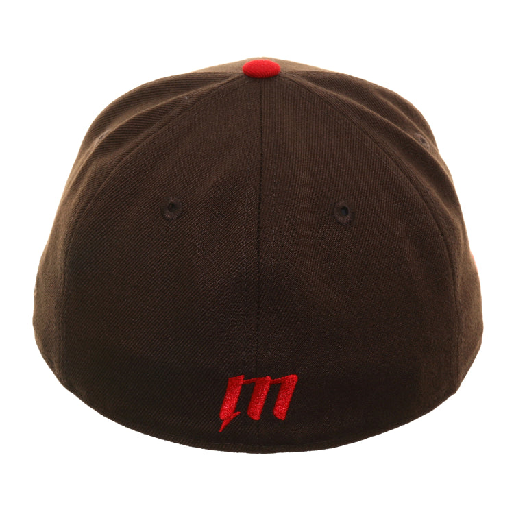 Exclusive New Era 59Fifty Outlaw Hat - 2T Brown, Red
