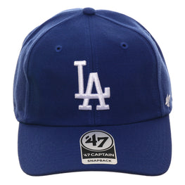47 Brand Los Angeles Dodgers Captain RL Snapback Game Hat - Royal
