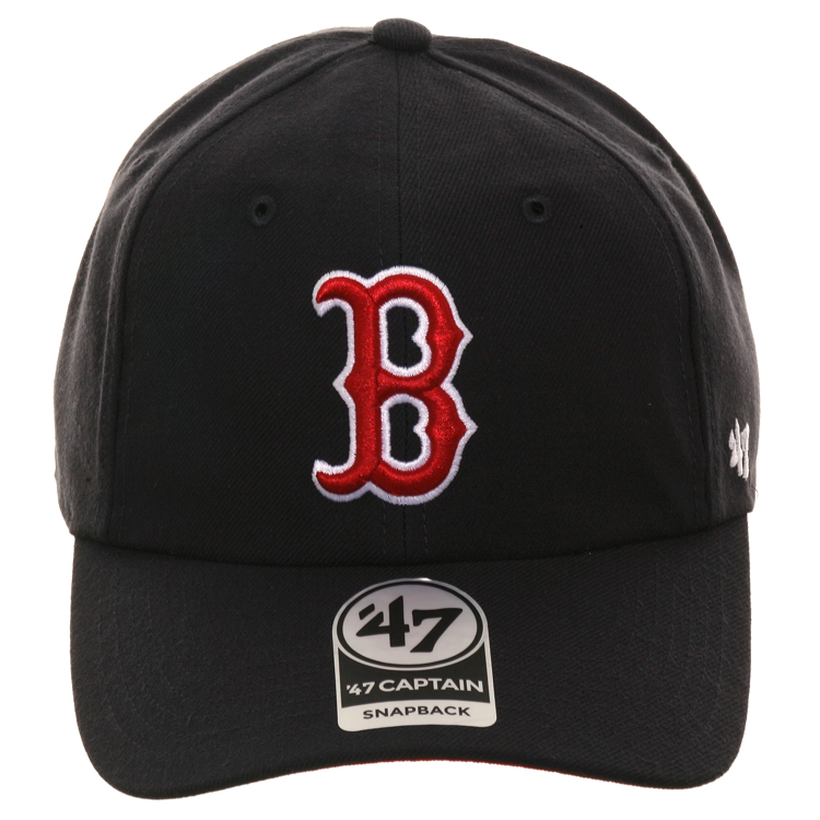 47 Brand Boston Red Sox Captain RL Snapback Game Hat - Navy
