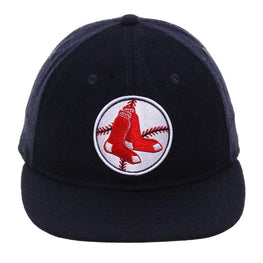 Exclusive New Era 59Fifty Boston Red Sox 1970 Retro Crown Hat - Navy