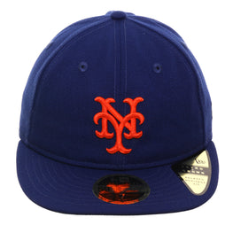 Exclusive New Era 59Fifty New York Mets Game Retro Crown Hat - Royal