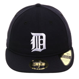Exclusive New Era 59Fifty Detroit Tigers 1930 Retro Crown Hat - Navy