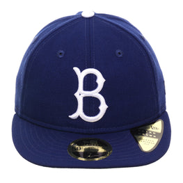 Exclusive New Era 59Fifty Brooklyn Dodgers 1954 Retro Crown Hat - Royal