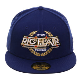 WWE New Era 59Fifty Ric Flair Emblem Hat - Royal