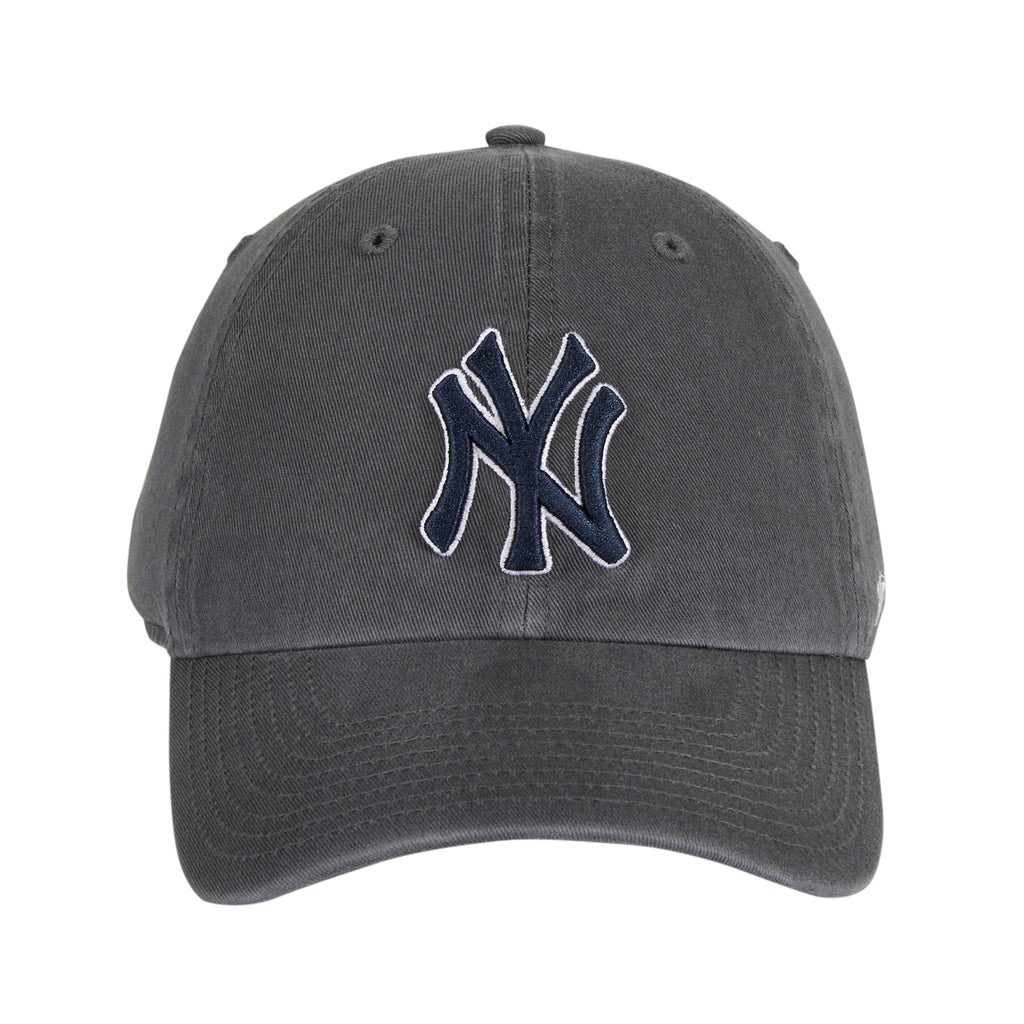 47 Brand New York Yankees Cleanup Adjustable Hat - Graphite, Navy