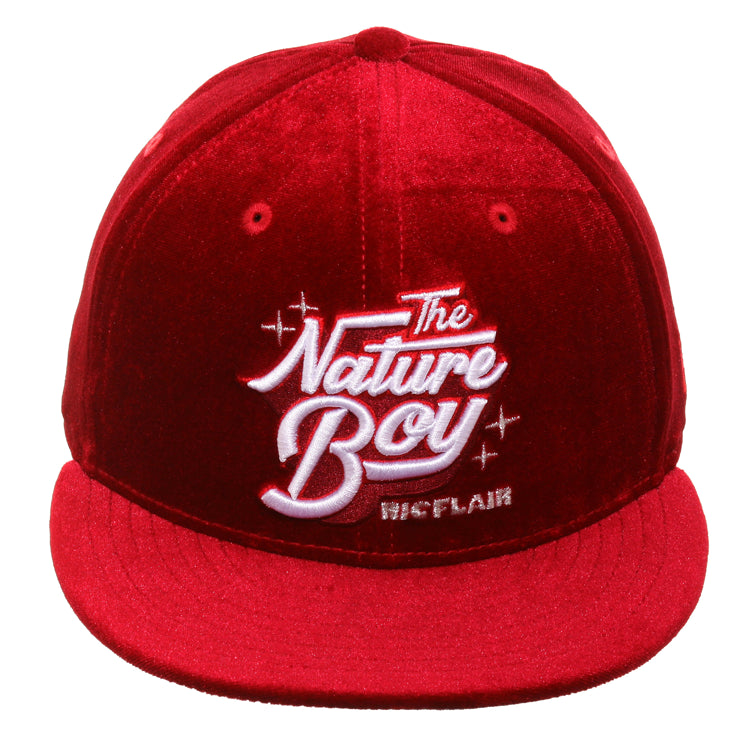 788d7cd3 WWE New Era 59Fifty Ric Flair Nature Boy Hat - Red – Hat Club