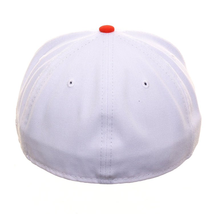 Exclusive New Era 59Fifty Houston Astros Prototype Hat - 2T White, Orange