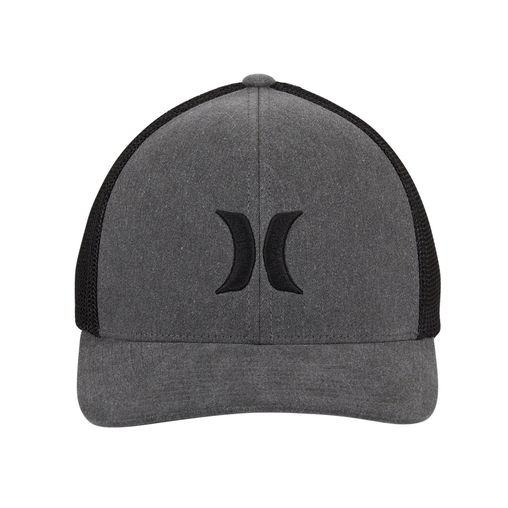 Hurley Icon Textures Mesh Flex Fit Hat - Black