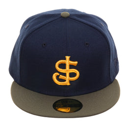 Exclusive New Era 59Fifty San Jose Giants Hat - 2T Navy, Olive