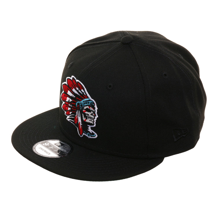 d0cce6cf Exclusive New Era 9Fifty Skull Chief Snapback Hat - Black