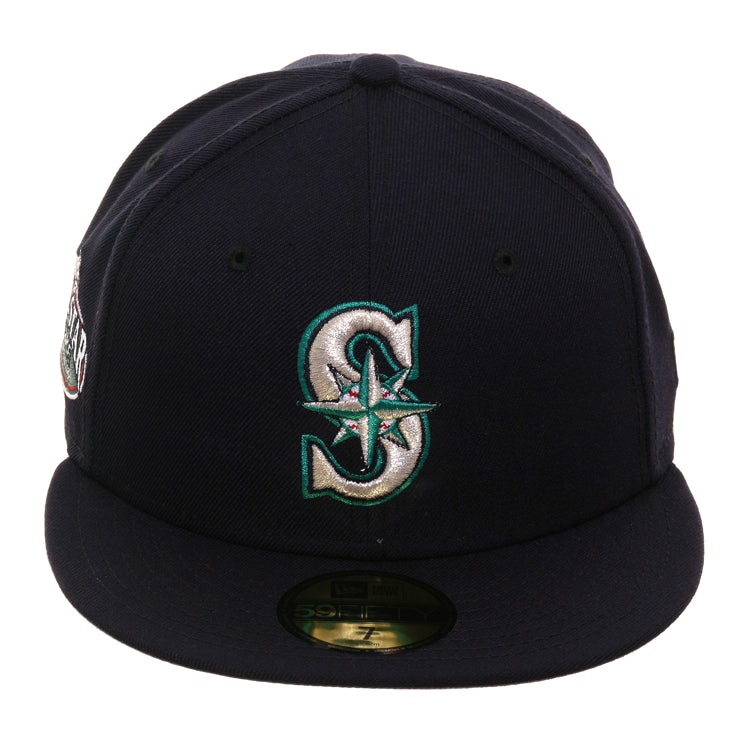 Exclusive New Era 59Fifty Seattle Mariners All Star Game Patch 2001 Hat - Game