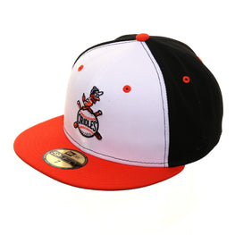 huge discount 0bb3c 3cbd5 Exclusive New Era 59Fifty Baltimore Orioles 1954 Hat - White, Black, Orange