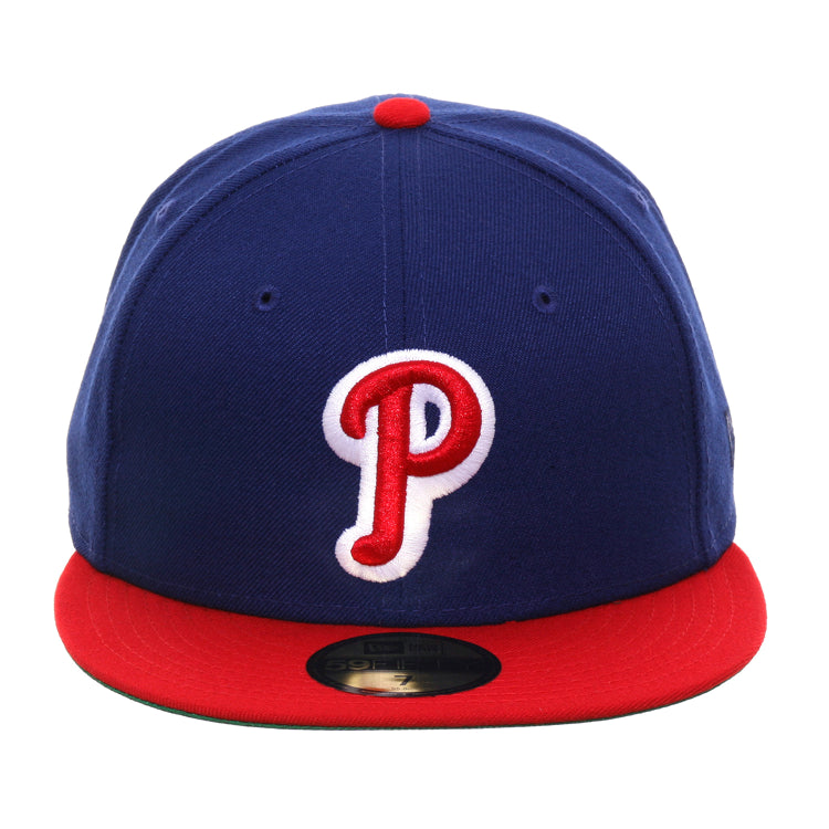 Exclusive New Era 59Fifty Philadelphia Phillies 1948 Hat - 2T Royal, Red